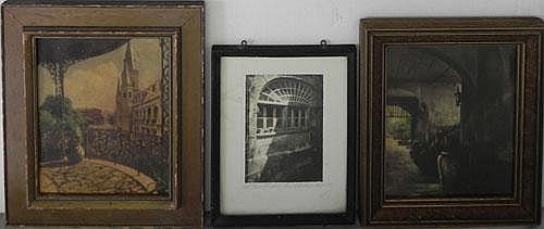 Three New Orleans Items- E. Delcroix (1892-1967) ,