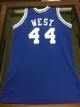 Signed Basketball Jersey Jerry West Los Angeles Hall of Fame 1979