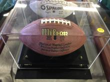 Signed Football George McAfee Hall of Fame 1966