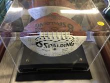 1992 Calgary Stampeders Team Signed Football