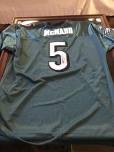 Signed Football Jersey Donovan McNabb Philadelphia Eagles