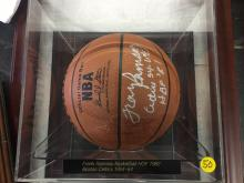 Signed Basketball Frank Ramsey Hall of Fame 82 Boston Celtics 1954-64