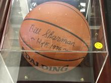 Signed Basketball Bill Sharman Celtics Hall of Fame 1975