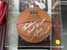Signed Basketball Jack Twyman The Royals