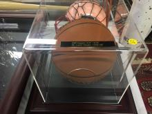 Signed Basketball Cliff Hagan St. Louis Hawks