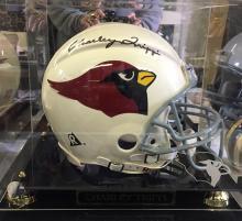 Arizona Cardinals Full Size Football Helmet Signed by Charley Trippi & Al Brosky