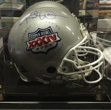 Autographed Superbowl XXXIV 34 Football Helmet Signed by Kurt Warner