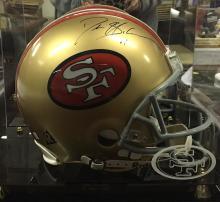 Autographed San Francisco 49ers Football Helmet Signed Deion Sanders