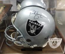Autographed Football Helmet Oakland Raiders Rich Gannon