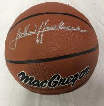 Autographed Basketball Signed John Havlicek Boston Celtics