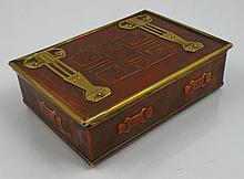 Austrian art nouveau jewellery box