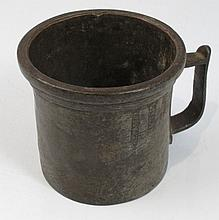 Merchant measuring cup from Odessa