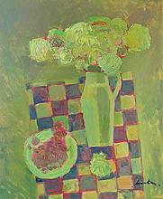 Zoltán Micska : (Hungarian,1949 - ): Still life