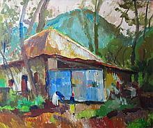 József Balla (Hungarian, 1901 - 1991): Highland house