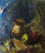 László Holló  (Hungarian,1887 - 1976): Still life