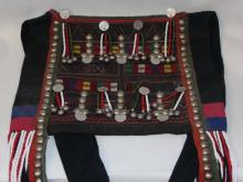 Vintage Purse : Large Vintage Akha Purse from Northern Thailand, ca 1960