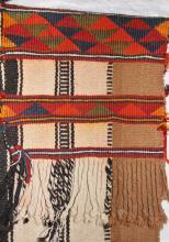 Saddle Bag : Vintage Handmade Kuwaiti Camel Saddle Bag