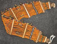 Choker : Authentic Konyak Naga Patterned Bead