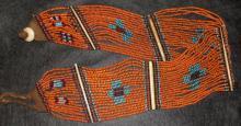 India : Vintage Konyak Naga Beaded Belt/Sash from North East India