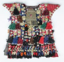 Ceremonial Vestment : Central Asia, Fantastic Afghanistan Child's Ceremonial Vestment