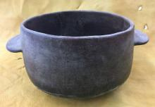 Rare Historic Tohono O'odham Cooking Pot, Ca Early 1900's,