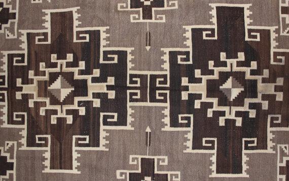Vintage Navajo Weaving 88 a