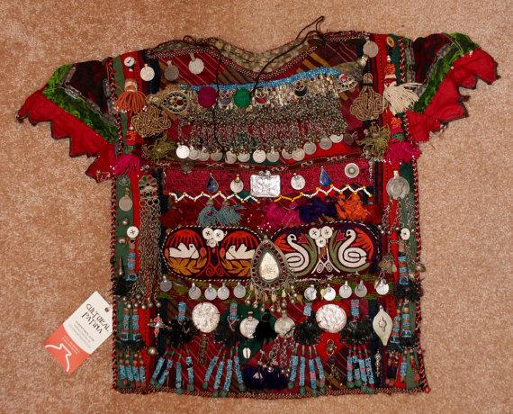 Nomadic Ethnic Tekke-Turkmen Ceremonial Baby Garment, #908