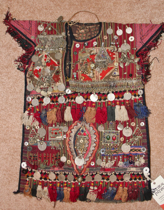 Nomadic Turkmen Children's Garment for Special Ceremonies, #886