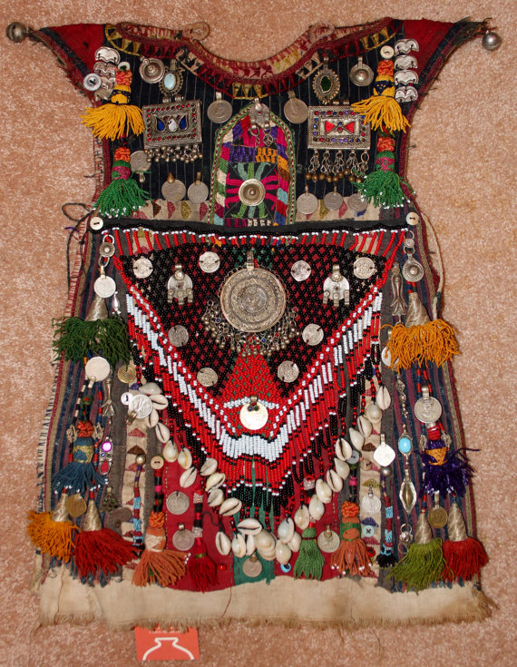 Nomadic Tekke-Turkmen Child's Ceremonial Garment, #909