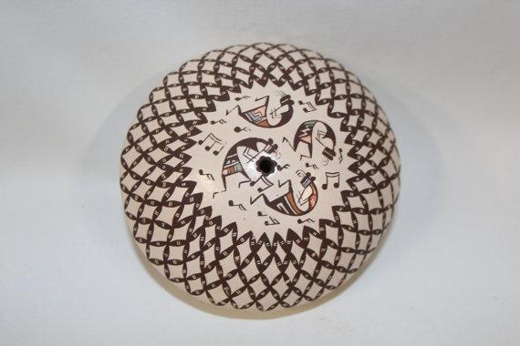 Seed Pot : Very Fine, Native American Santa Clara Seed Pot #186
