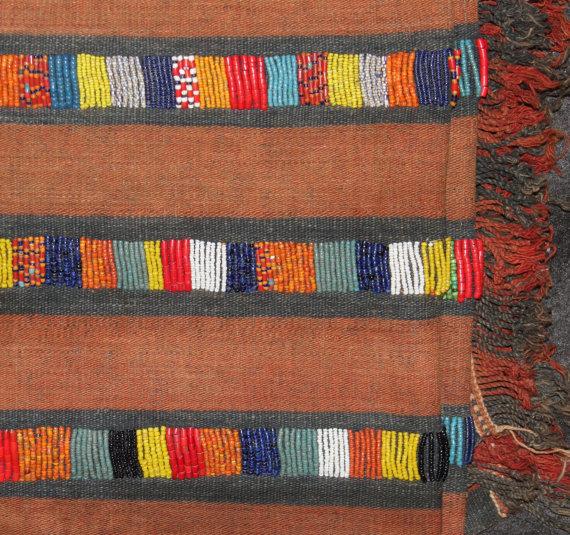 Naga : Authenic Rare Konyak Naga Chief*s Wife Beaded Body Cloth #614
