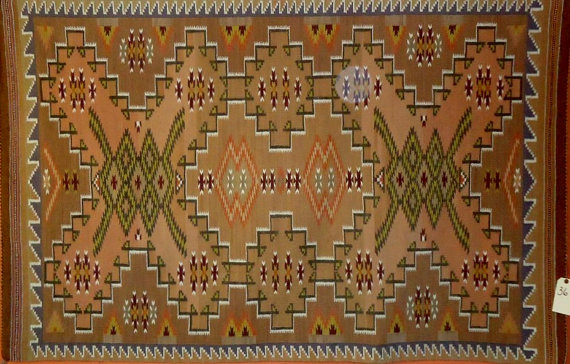 Native American Navajo Rug/Weaving, C 1960-70, #843