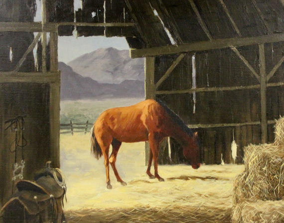 Country Painting : Marshall Merritt Artist, Marshall Merritt Oil Paintings,
