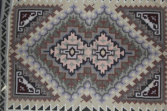 Wool Rug : Exquisite Navajo Wool Rug by Gladys Shepard #1