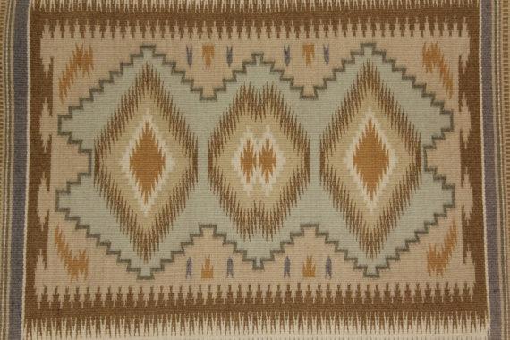 Navajo Rug : Fine Pastel Burnt Water Navajo Rug #60