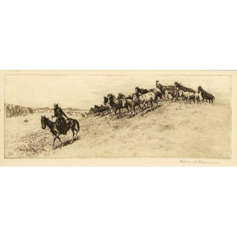Western Artist, Santa Barbara, Edward Borein,