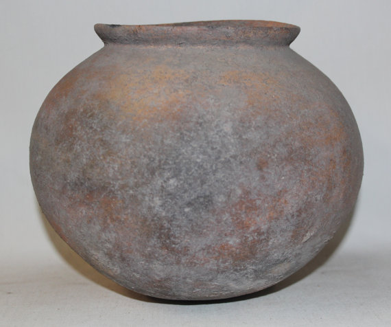 Thailand Pottery : Exquisite Thin Walled Ban Chiang (Ban Srabohe*) Pottery Pot from Chiang, Mai Thailand #465