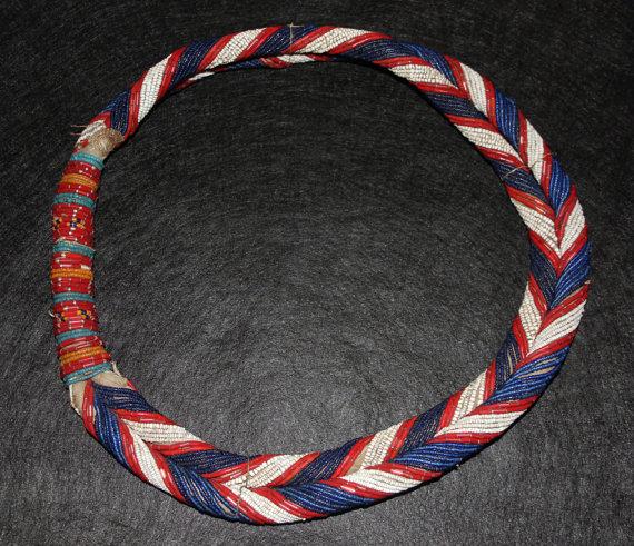 Tribal Necklace : Authentic Vintage Konyak