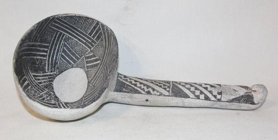 Ladle : Exquisite Prehistoric Native American Anasazi Tularosa Ladle, CA 800-1200 A.D. #435