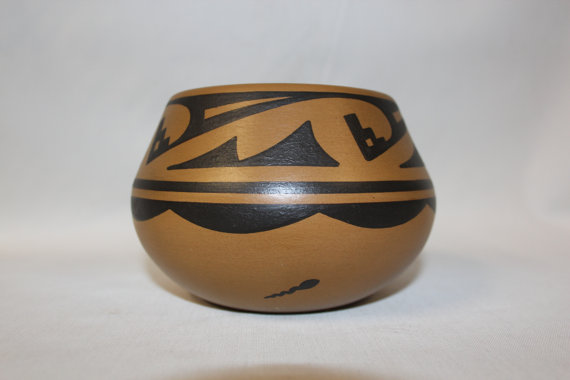 American Indian Pottery : Native American San Ildelfonso Pottery Jar by Cavan Gonzales #72