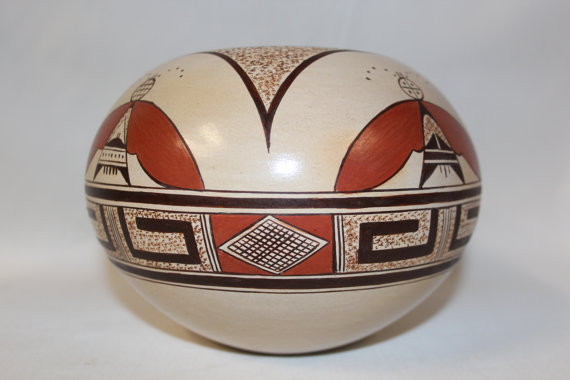 Hopi Pottery : Beautiful Native American Hopi Pottery Jar by Tonita Nampeyo #77