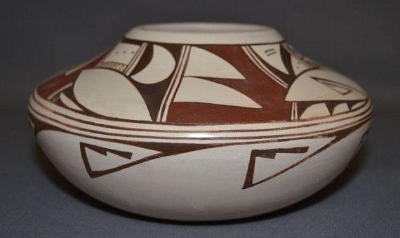 Hopi Pottery : Very Nice Native American Hopi Pottery Jar by Grace Navasie #217