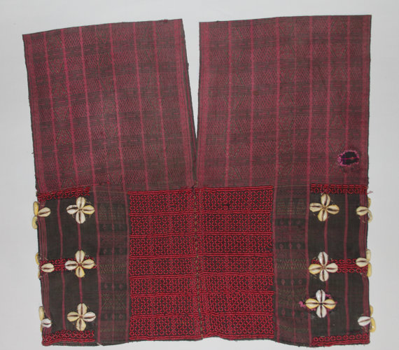 Vintage Clothing : Exceptional Vintage Chin Beaded Tunic from Inle Lake, Myanmar #456
