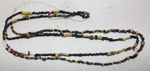 Rare Beads : Two Strands of Rare Historic Beads from Bagan, Myanmar #454