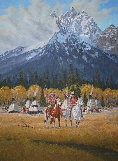 Ron Stewart Oil Painting : Original Ron Stewart Oil,