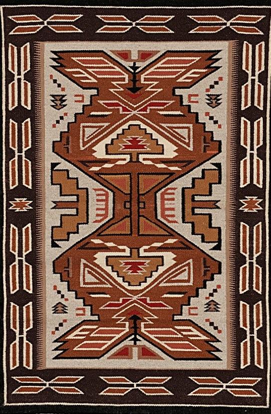 Navajo Rug, Teec Nos Pos Weaving, Wool Rugs, native American Rug, Navajo Weaving, Southwestern Rug, Navajo Textiles, Woven Rug #676