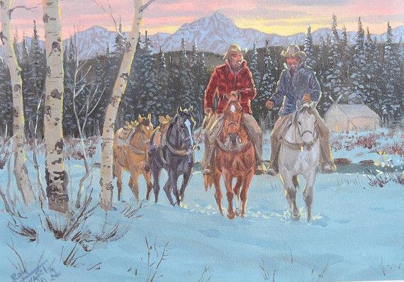 Art : Ron Stewart Painting, Ron Stewart ,