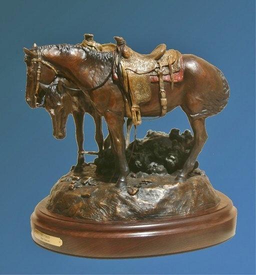 Western Art : Ron Stewart, Ron Stewart Western Artist, Ron Stewart Bronze Sculpture,