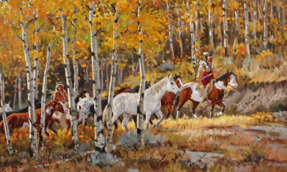 Fine Art : Ron Stewart Oil Painting, Original Ron Stewart Oil,