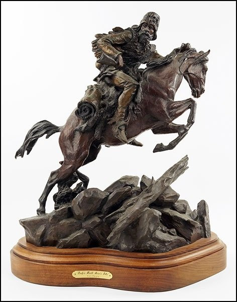 Bronze Sculpture : Outstanding Bronze Sculpture by Ken Payne (American, 1938-2012),